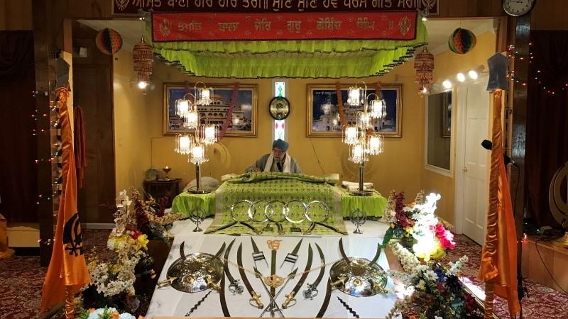 Gurdwara Guru Nanak Darbar - Main Hall